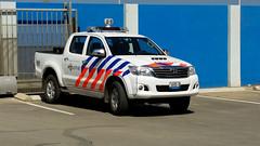 Bonaire police car