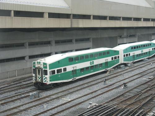 a GO train