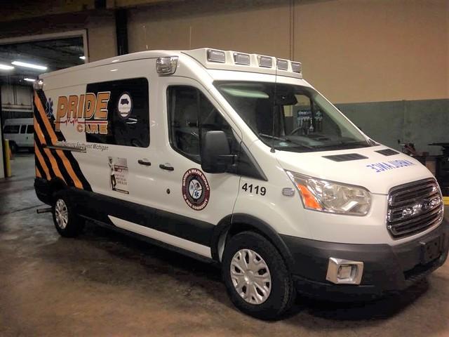 Michigan ambulance