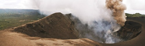 Mt Yasur crater - Tanna Island