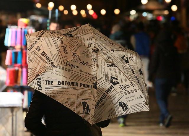 Sous une pluie d'informations...