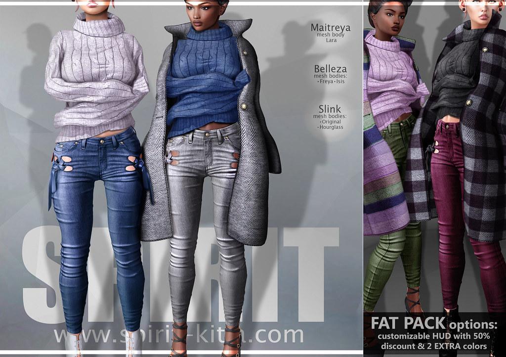 SPIRIT - Paola outfit - SecondLifeHub.com