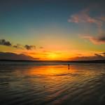 Alone at sundown