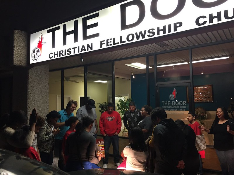 3rd Christmas caroling outreach 5 people saved!!!