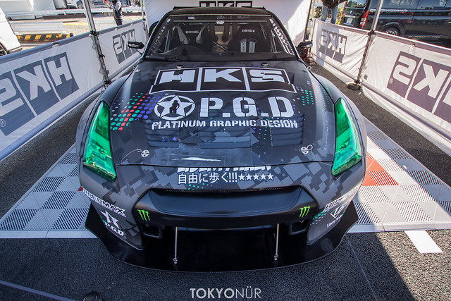 """The Champ Is Here"" Daigo Saito FAT FIVE Racing HKS R35 GT-R // Formula Drift USA 2017 Series"