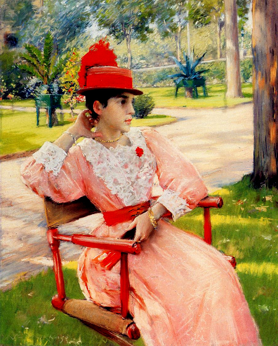 Afternoon in the Park by William Merritt Chase, c.1887