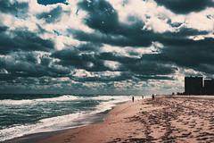 Mimi on the beach