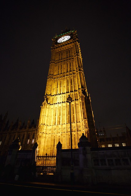 Silly perspective of Big Ben (I mean The Elizabeth Tower)