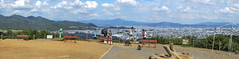 Kyoto City & Iwatayama Monkey Park Panorama