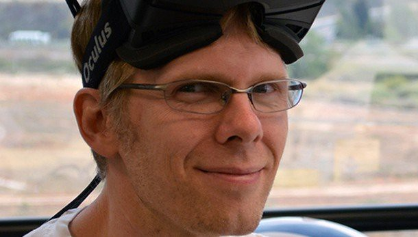 John Carmack to keynote Oculus Connect 2