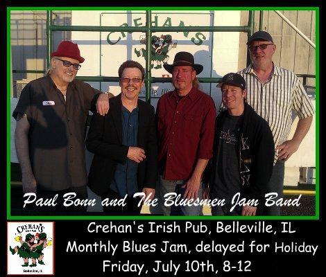 Bluesmen Jam Band 7-10-15