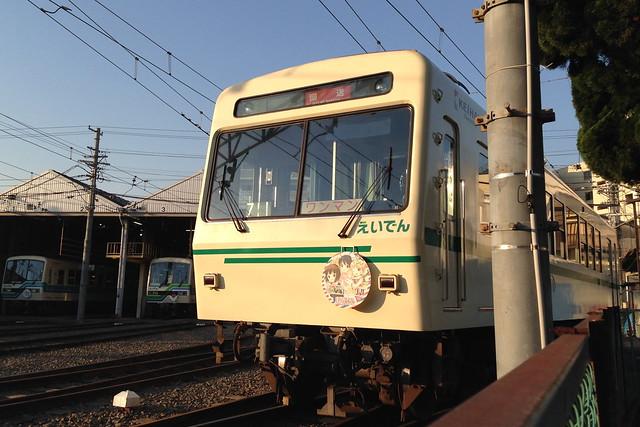 2015/04 叡山電車×きんいろモザイク ラッピング車両 #35