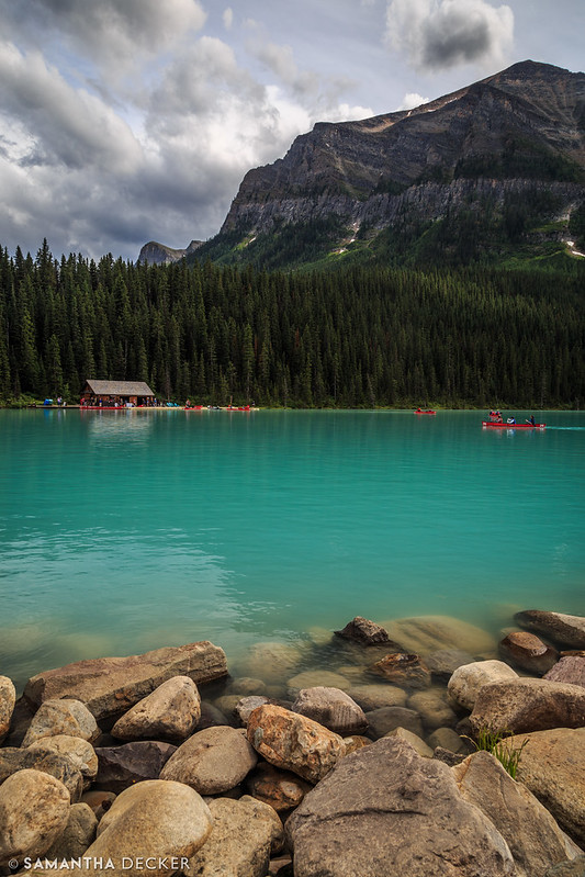 The Boathouse on Lake Louise