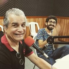 Nelson Augusto e o músico Thiago Almeida, que está lançando o CD Uneração Vital #BlogAuroradeCinemaregistra #programaCulturaeMusica #musicalidade #MPB #rádio #MúsicatambéméassuntoBlogAuroradeCinema #rádioaovivo