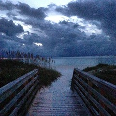 It was a dark and stormy night... #florida #weather #nofilter