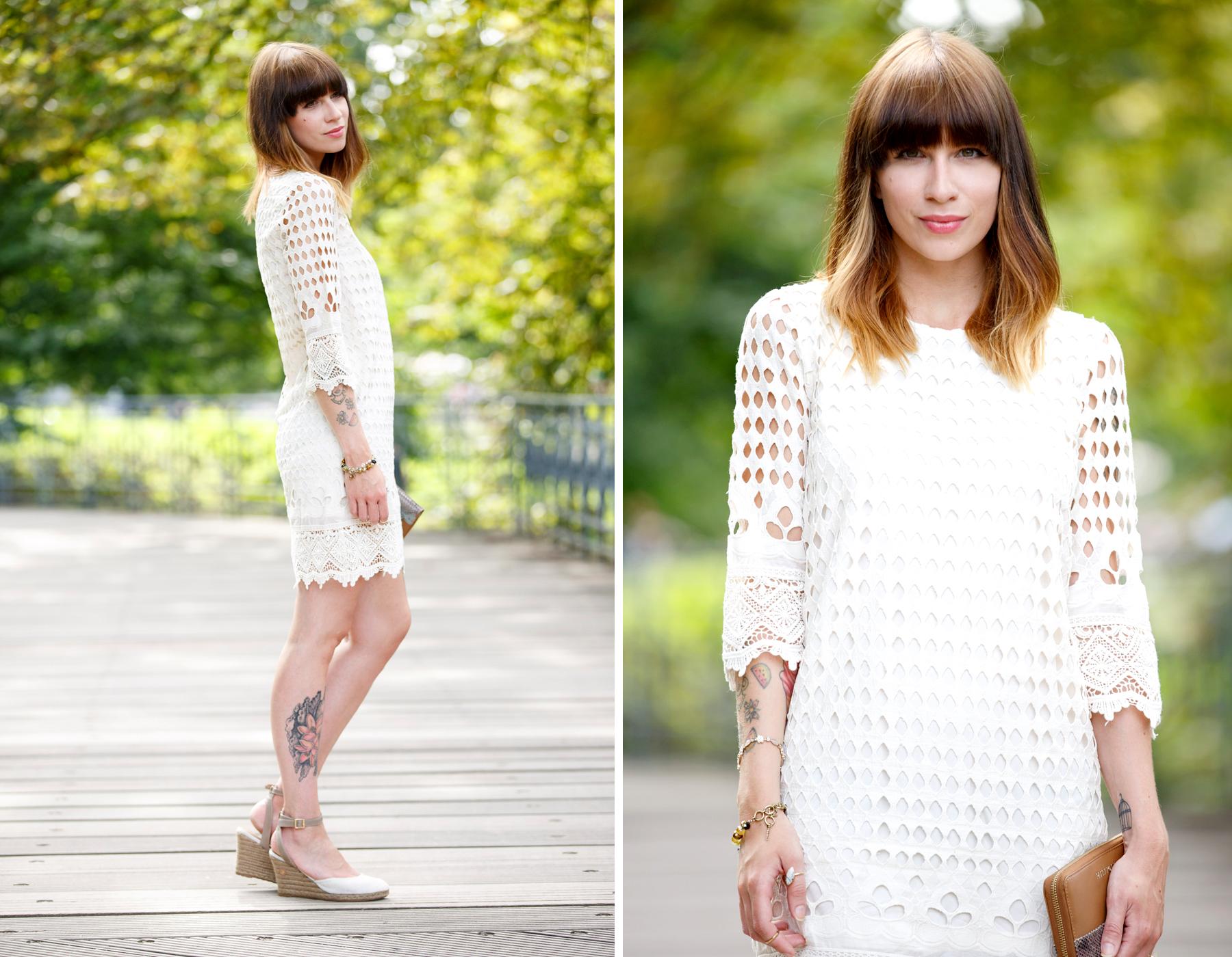 dress-for-less outfit styling white sommerkleid summer look crochet wrangler hilfiger fashion blog germany düsseldorf ricarda schernus cats & dogs 5