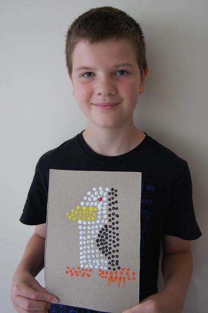 2 Aboriginal Dot Painting - AB