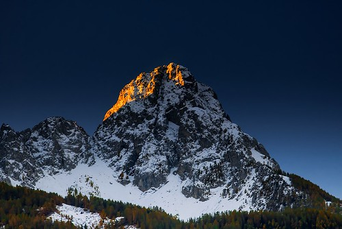 mountains alps alpes peak snow sky canoneos70d blue canon sunrise nature landscape ubaye autumn fall white winter mont cold frozen