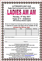 Ladies AM-AM May 17