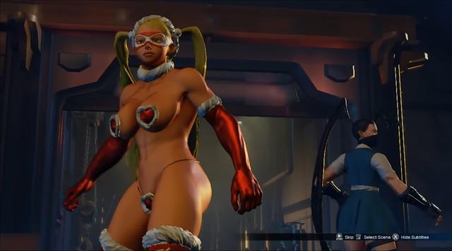 Street Fighter 5 - R Mika Christmas Bikini