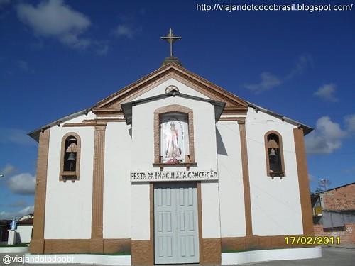 São Luis do Quitunde - Igreja Nossa Senhora da Imaculada Conceição