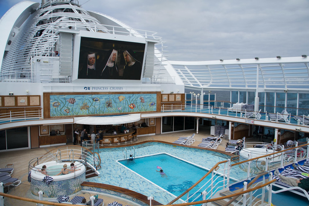 Pools and Hot Tubs on Ruby Princess