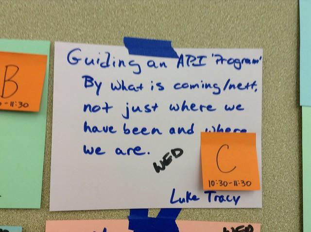 Guiding API Programs