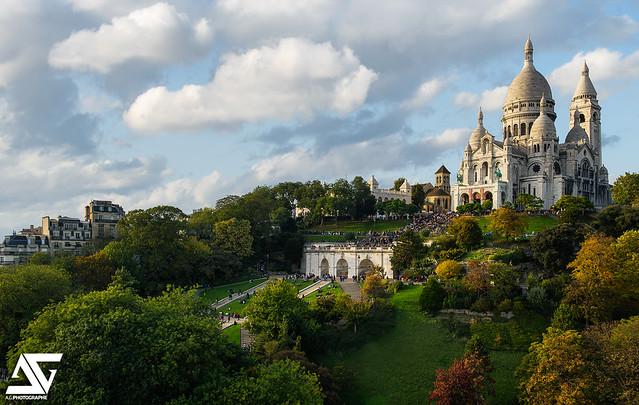 Les jardins du Sacré-Coeur