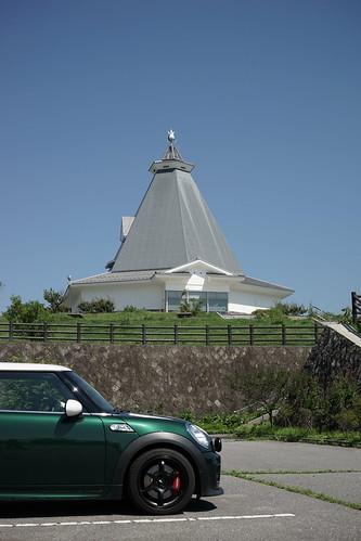 市立小諸高原美術館とMINI