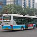 [Buses in Beijing] Foton AUV - Huayu BJD-WG120F <Trolley-bus> BPT #95601 Line 104 at Chongwenmen