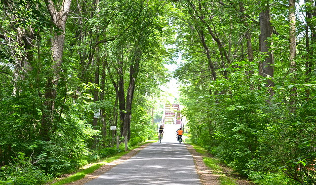 bike path, burlington vermont