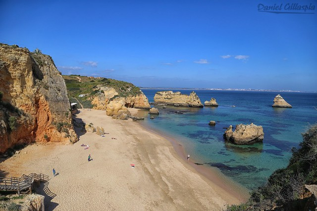 Algarve Portugal Praia De Dona Ana