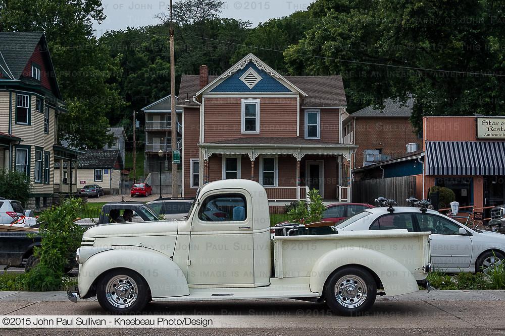 Auto Street Portrait White 1948 Chevrolet Car Truck Vintage Nikon Automobile Side Profile Cream Pickup Autoshow