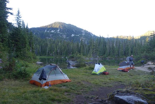 Deception Lake camp