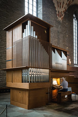 Kororgeln i Vadstena klosterkyrka