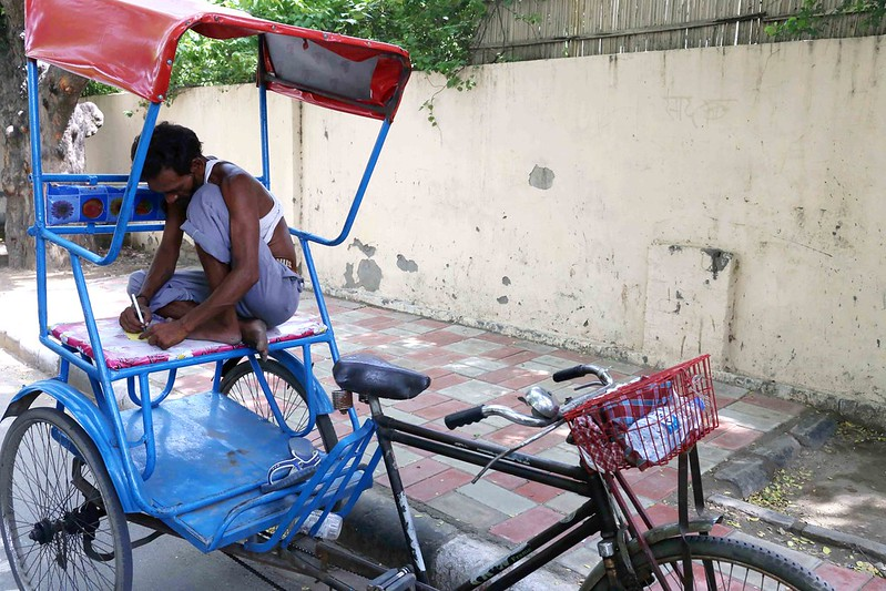 City Moment – The Rickshaw Puller's Letter, Jangpura