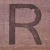 letter R by Leo Reynolds