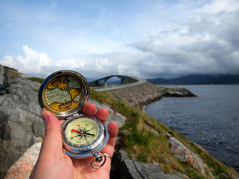 Compass in Norway