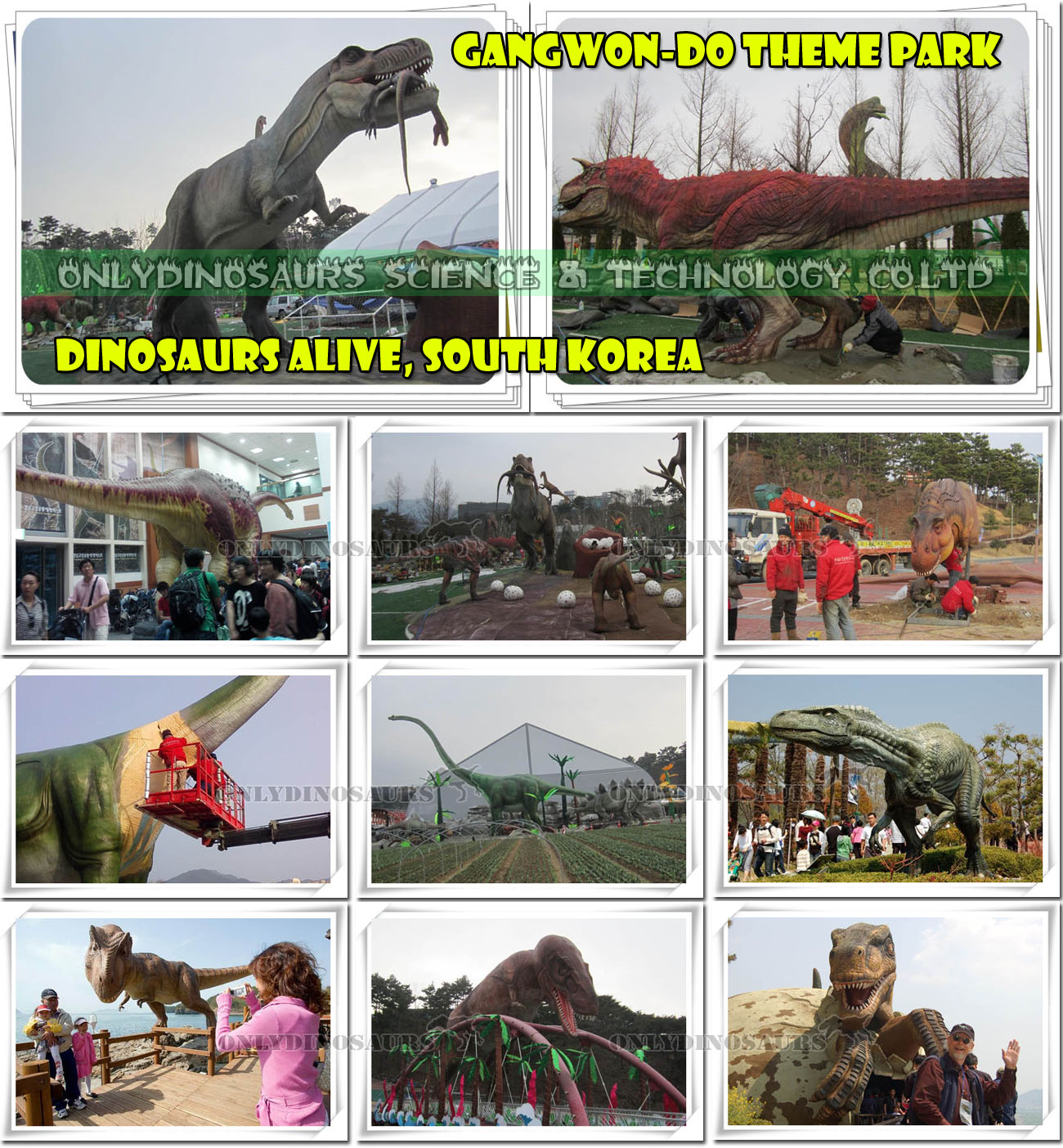 Dinosaurs Alive South Korea