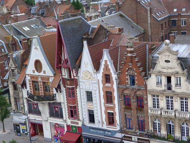 Casas de Béthune (Norte de Francia)