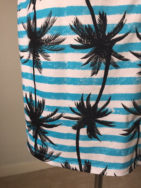 Knit stripe dresses