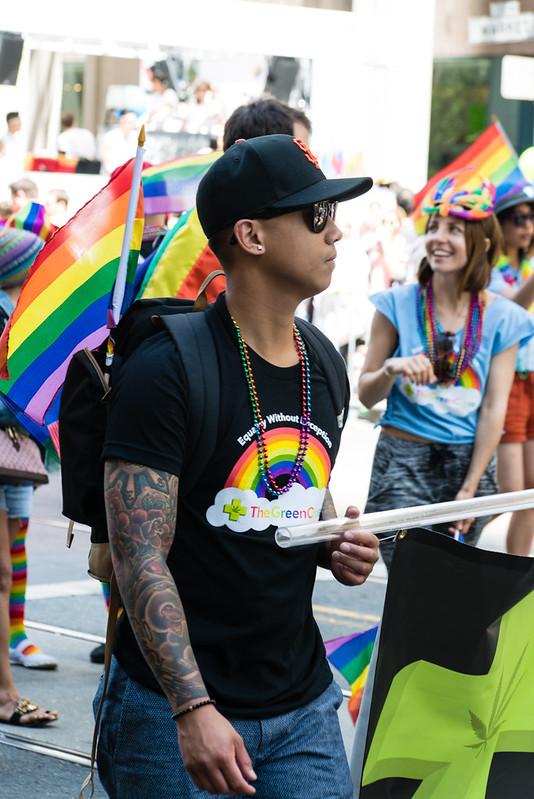 San Francisco Pride / The Green Cross