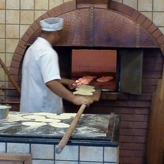 masonry oven, wood, iron, cuisine, brickwork, hearth,