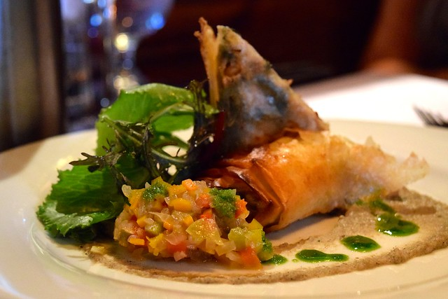 Filo & Feta Parcels at The Finnieston, Glasgow