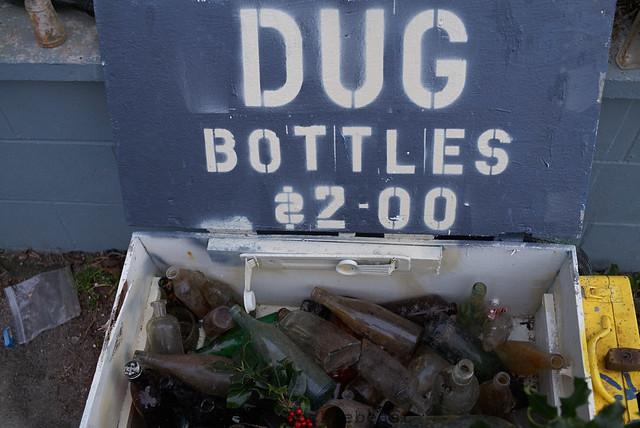 dug bottles