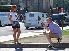 Parliament Square Selfie Stick