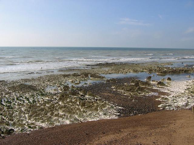 The coast at Peacehaven
