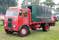 day 192 posted a photo:	JVU322 Foden OG in the colours of G.H Donaldson & Sons.