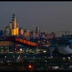 NJ Meadowlands & WTC -  Taikanar 300mm  on Sony a850