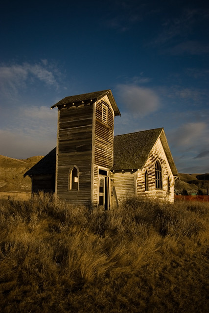 ghost town church (abandoned)